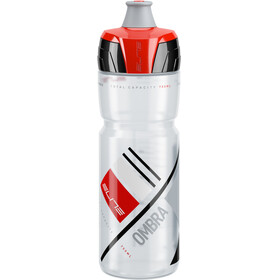Elite Ombra Bidon 750ml rood/transparant